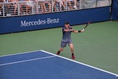 Denis Shapovalov. Tennis player Denis Shapovalov at the US Open Stock Photography