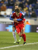 Denis Suarez av Sevilla FC Royaltyfri Bild