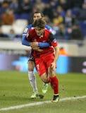 Denis Suarez de Sevilla FC Imagen de archivo libre de regalías