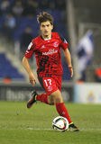 Denis Suarez of Sevilla FC. During spanish League match against RCD Espanyol at the Estadi Cornella on January 22, 2015 in Barcelona, Spain Royalty Free Stock Photography
