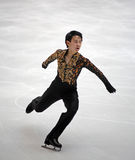 Denis Ten (KAZ) royalty free stock images