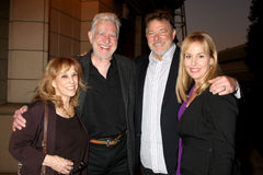 Denise Alexander, Genie Francis, Jonathan Frakes Royalty Free Stock Photo