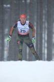 Denise Herrmann - Cross Country-Skifahren Lizenzfreie Stockfotografie