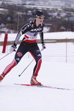 Denise Herrmann - german cross country skier Royalty Free Stock Image
