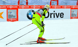 Denise Herrmanncompetes in the FIS Cross-Country  World Cup Stock Images