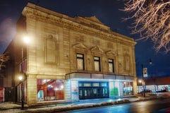 Denise Pelletier Theatre alla notte Immagini Stock Libere da Diritti