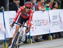 Denise Ramsden wins Gastown Grand Prix Royalty Free Stock Image