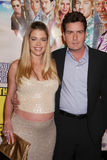 Denise Richards,Charlie Sheen Stock Images
