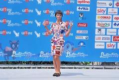 Denise Tantucci al Giffoni Ekranowy festiwal 2016 Obraz Stock