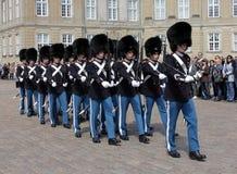 Denish Royal Guards Royalty Free Stock Photo