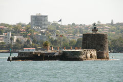 Denison forte - Sydney - l'Australia Fotografia Stock Libera da Diritti