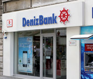 Denizbank. Royalty Free Stock Image