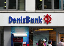 Denizbank. Royalty Free Stock Photography