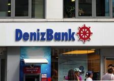 Denizbank. Royalty Free Stock Photography
