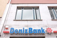 DenizBank Royalty Free Stock Photography