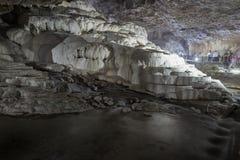 Denizli de la cueva de Kaklık Imágenes de archivo libres de regalías