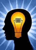 Denk! royalty-vrije illustratie