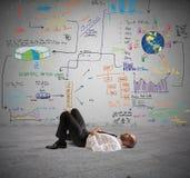 Denk aan een nieuw project Stock Foto's