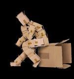 Denk buiten het doosconcept Stock Foto's