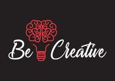 Denk creatief vector illustratie