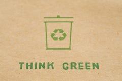 Denk groen stock foto's