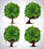 Denk groen ontwerp Stock Foto