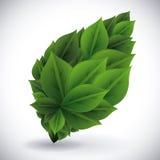 Denk groen ontwerp Stock Afbeeldingen