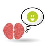 Denk ontwerp, positief en ideeconcept Royalty-vrije Stock Afbeelding