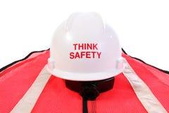Denk Veiligheid Stock Fotografie
