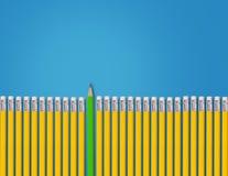 Denk verschillend Concept Stock Fotografie