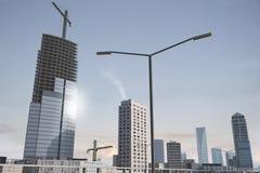 Denkbeeldige stad 69 Stock Afbeeldingen