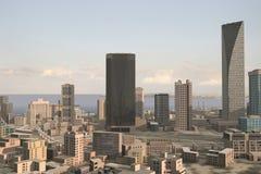 Denkbeeldige stad 89 Stock Foto's
