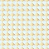 Denkbeeldige Vierkante 3d Textuur, Vectorachtergrond Stock Foto