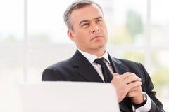 Denken an Geschäft Lizenzfreies Stockbild