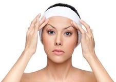 Denken an Schönheitsoperation Lizenzfreie Stockfotos