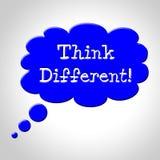 Denken Sie, dass unterschiedliche Blase Änderung jetzt darstellt und verbessern Sie vektor abbildung