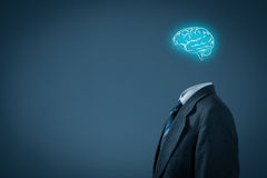Denken Sie an Geschäft Stockfoto