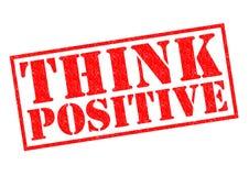 Denken Sie Positiv Stockbilder