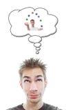 Denken an Unterhaltung Lizenzfreies Stockfoto