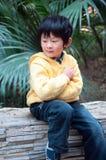 Denkende jongen Royalty-vrije Stock Fotografie