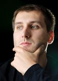 Denkende Männer Lizenzfreies Stockfoto