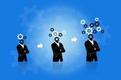 Denkender Fortschritt und Wachstum Lizenzfreie Stockfotografie