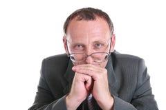 Denkender Älterer Lizenzfreies Stockbild