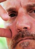 Denkender Mann Lizenzfreies Stockbild