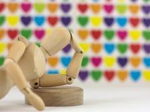 Denkender Mann in der Liebe Lizenzfreies Stockbild