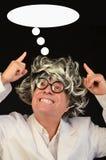 Denkender Wissenschaftler Lizenzfreies Stockbild