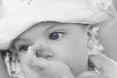 Denkendes Baby Stockfotografie