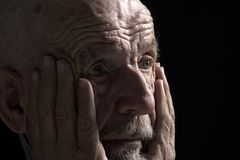Denkendes Gesicht Lizenzfreie Stockfotos