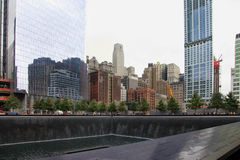 9/11 Denkmal Stockfotos