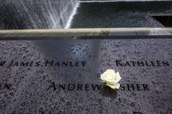 9/11 Denkmal Stockfoto